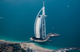 Picture of Dubai with its Beach
